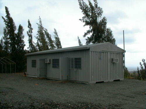 Army Field Office with Roof & A/C