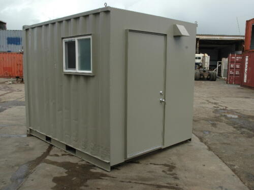 8 x 10 Double Shower & Sink Unit
