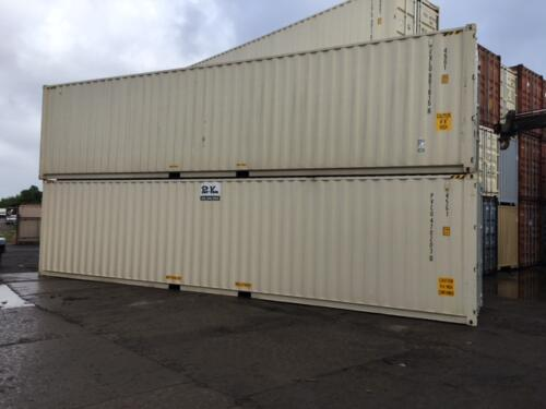 40' New (One Trip) Containers