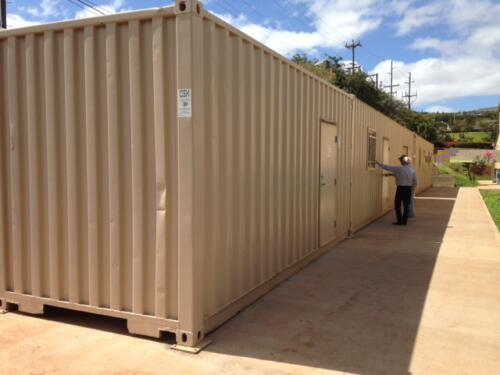 Church Storage Containers & Office